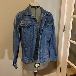 Charter Club classic denim jacket, Sz S